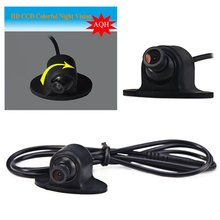 Car back up 170 Degrees Wide Angle Rotation Waterproof IP HD CCD Car Rear View Camera