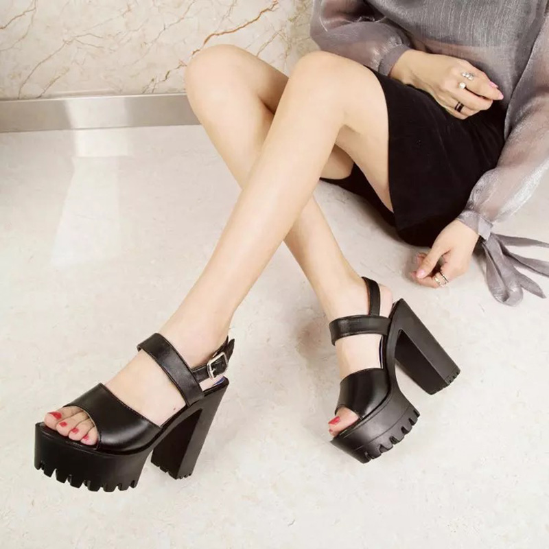 2ea1f5170 ZHENZHOU-2018-New-Sandals-Korean-12-5cm-Women -Fish-Mouth-Super-High-Heel-Thick-Sexy-Platform.jpg