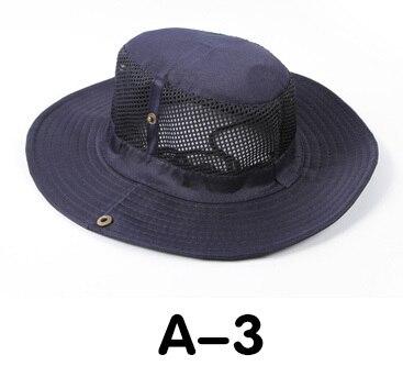 Новые модные камуфляжные летние кепки для мужчин и женщин, мужские круглые шапочки для военного кемпинга, уличная Солнцезащитная шляпа - Цвет: A 3