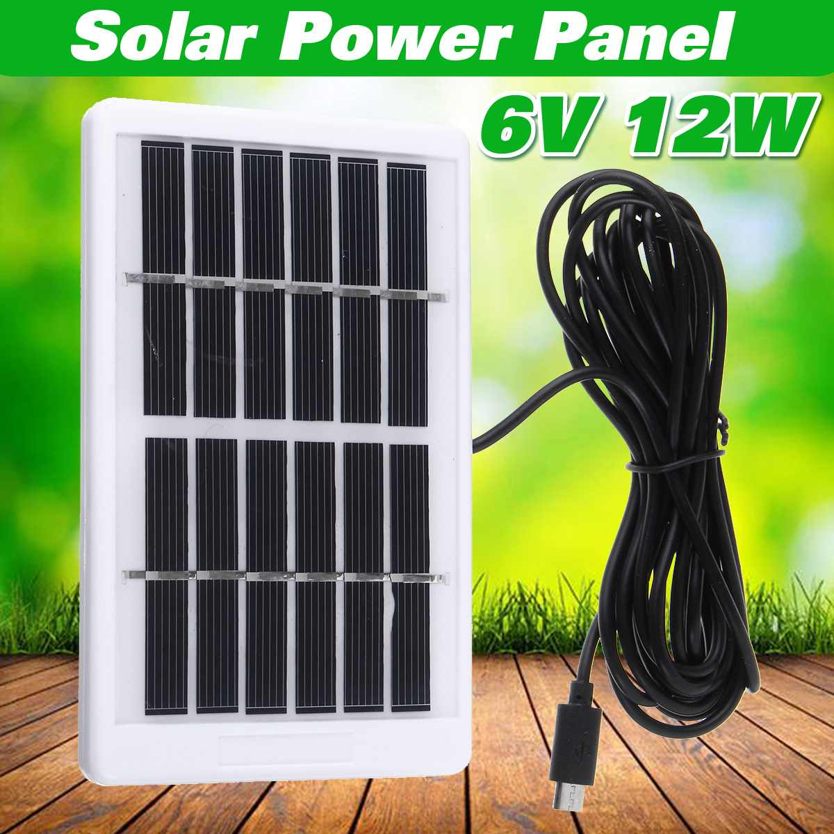 Energy-Saving Solar Panel with USB power interface for Outdoor Camping