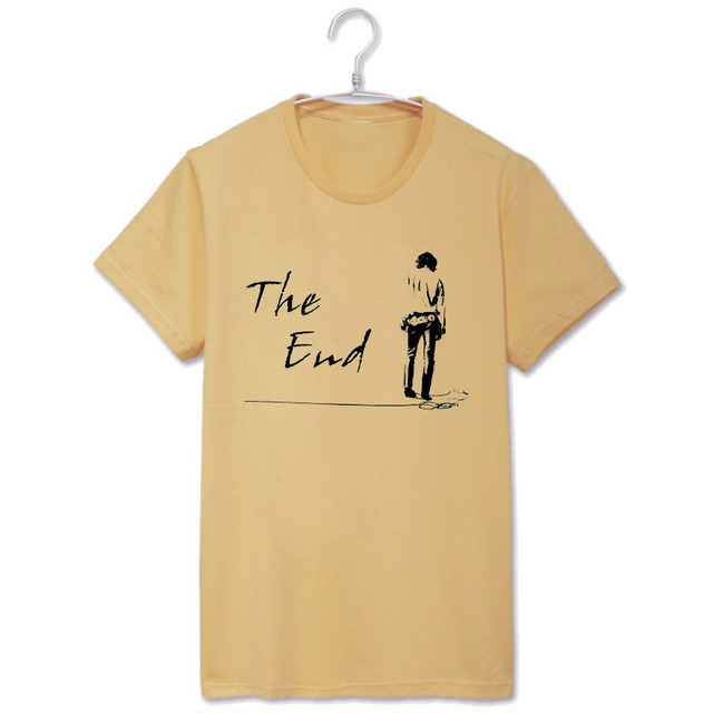 Psychedelic rock fashion the doors when the music is over vintage fashion t shirt  sc 1 st  AliExpress.com & Psychedelic rock fashion the doors when the music is over vintage ...