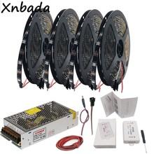 WS2812B WS2812 RGB Led Strip Light+SP105E Bluetooth Controller+DC5V Power Supply Adapter Kit 5m 10m 15m 20m 30/60Leds/m