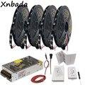 WS2812B WS2812 RGB Led Strip Light + SP105E Bluetooth Led RGB Controlador + Adaptador de Alimentação Kit 5 DC5V m 10 m 15 m 20 m 30/60 60leds/m