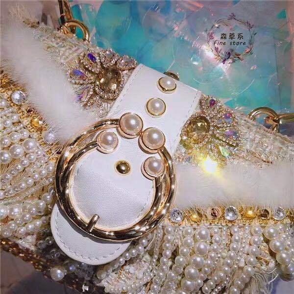 Pearl Diamond handbag 3