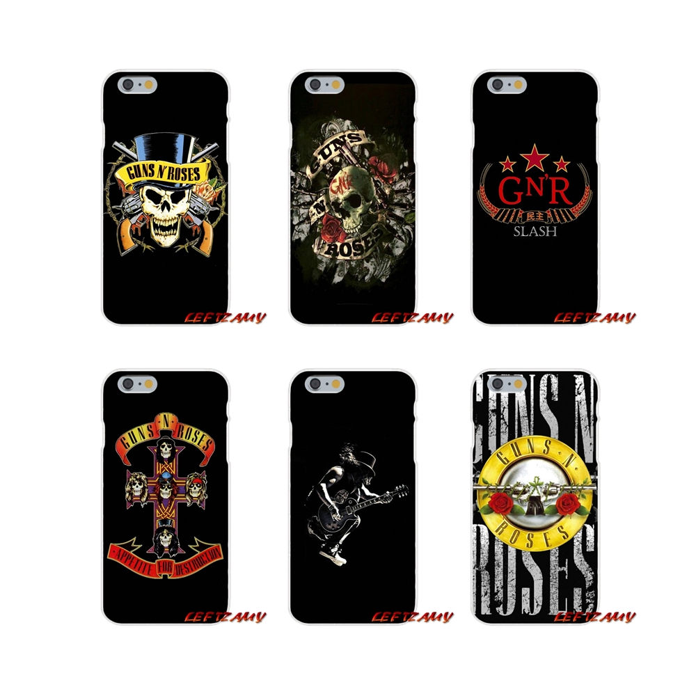 guns n roses music band retro Slim Silicone phone Case For Huawei P8 P9 P10 Lite 2017 Honor 4C 5X 5C 6X Mate 7 8 9 10 Pro