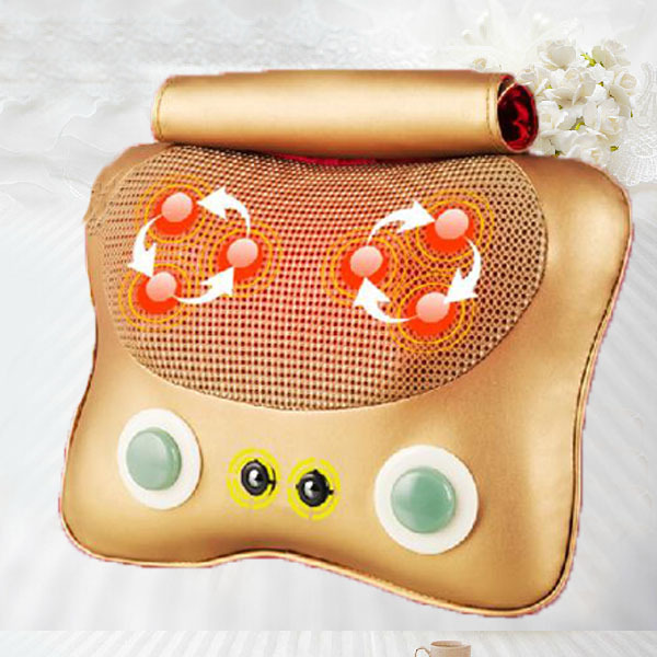 Hot New Electrical Full Body Relax Massage Muscle Therapy Massager,Neck Pain Relief Massage Pillow 2017 hot sale mini electric massager digital pulse therapy muscle full body massager silver
