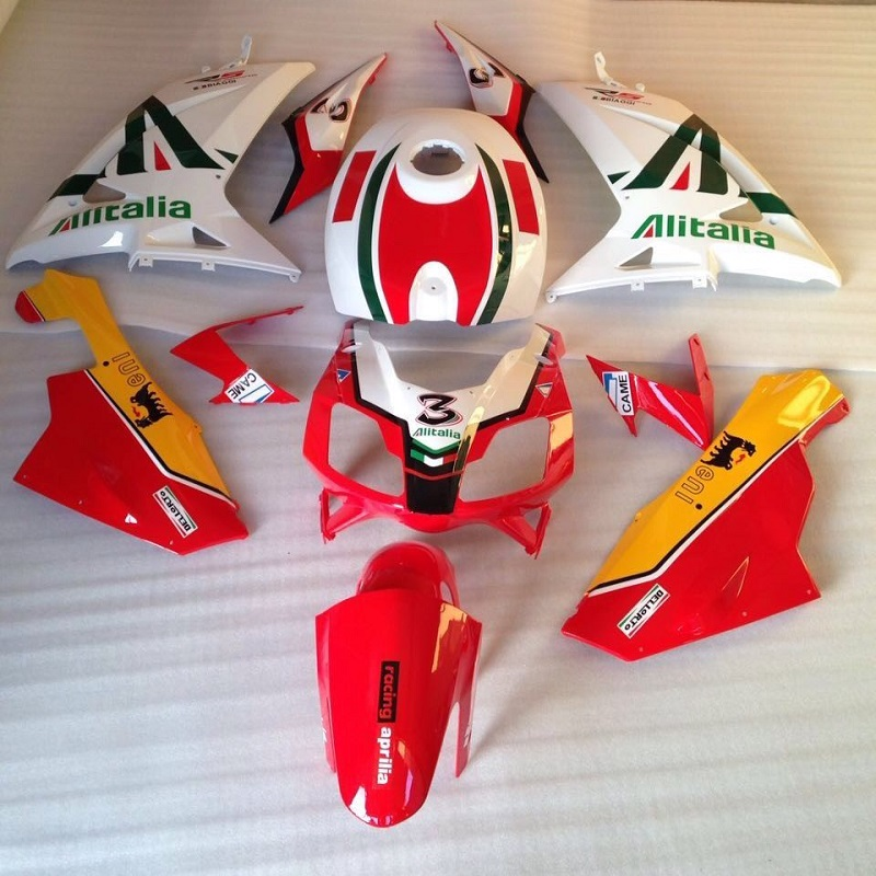 Body Kit For Aprilia Parts RS125 RS 125 2006 2007 2008 2009 2010 2011 Bike Racing Motorcycle Fairings For Sale RS4 RSV 125 06 image