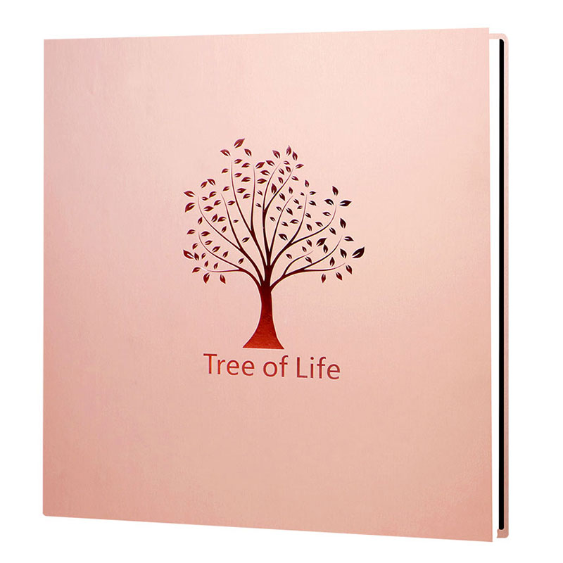 Large Capacity Creative DIY Manual Photo Album Self adhesive Coated Family Album Photos Lover Wedding Stickers