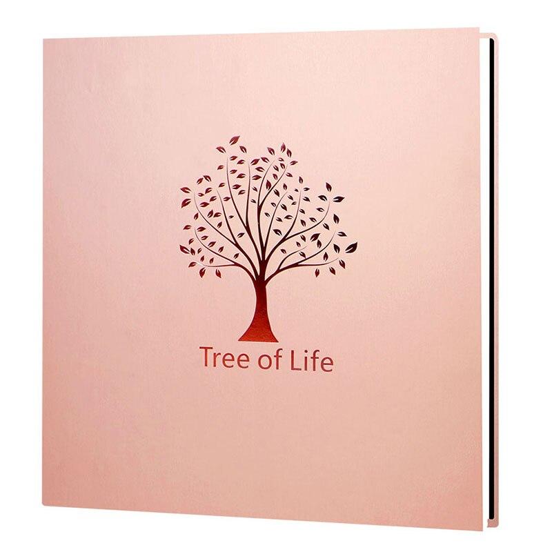 De gran capacidad DIY creativo de Manual foto álbum auto-adhesivo recubierto de familia, álbum de fotos amante pegatinas de boda álbum de crecimiento