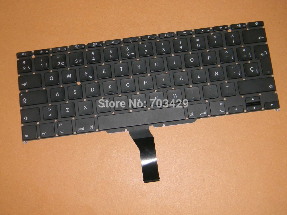 "New Original For Macbook Air 11 inch"" A1465 MD223 MD224 MD711 MD712 Spanish SP keyboard TECLADO"""