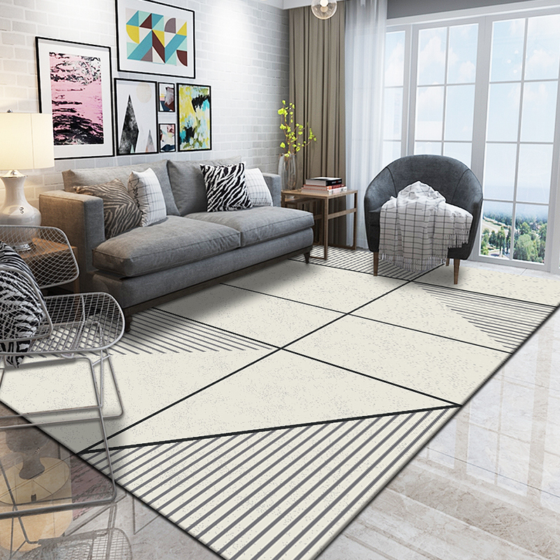 Modern Carpets For Living Room Home Decorative Bedroom Rug Sofa Coffee Rug Thick Polypropylene Floor Mat Study Room Carpet Rugs