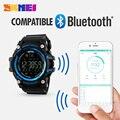Homens smart watch pedômetro contador de calorias digital moda relógio cronógrafo display led assista sports relógios relogio masculino