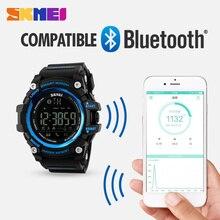 Hommes Smart Watch Podomètre Calories Compteur De Mode Numérique montre Chronographe Affichage LED Montre Sport Montres Relogio Masculino