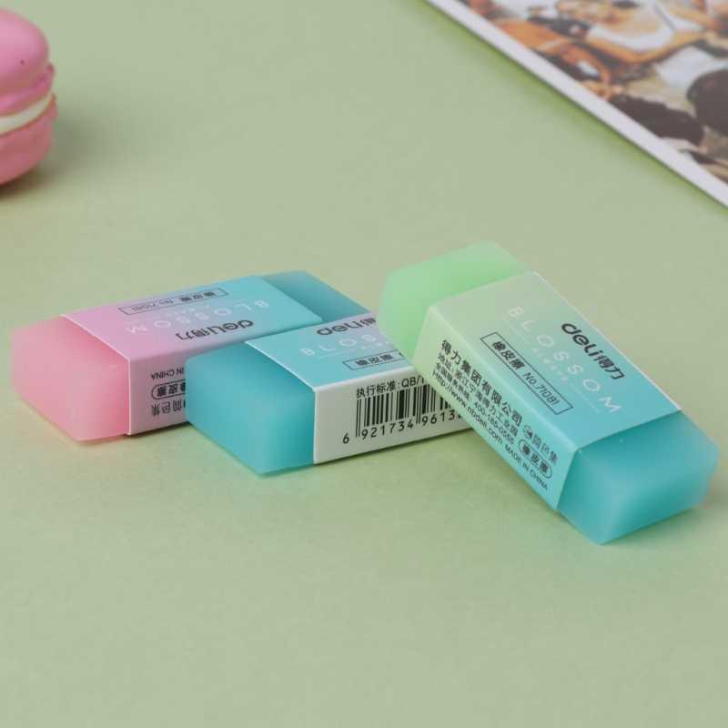 Miękka trwała elastyczna kostka śliczne kolorowe gumka do ołówka gumki dla uczniów