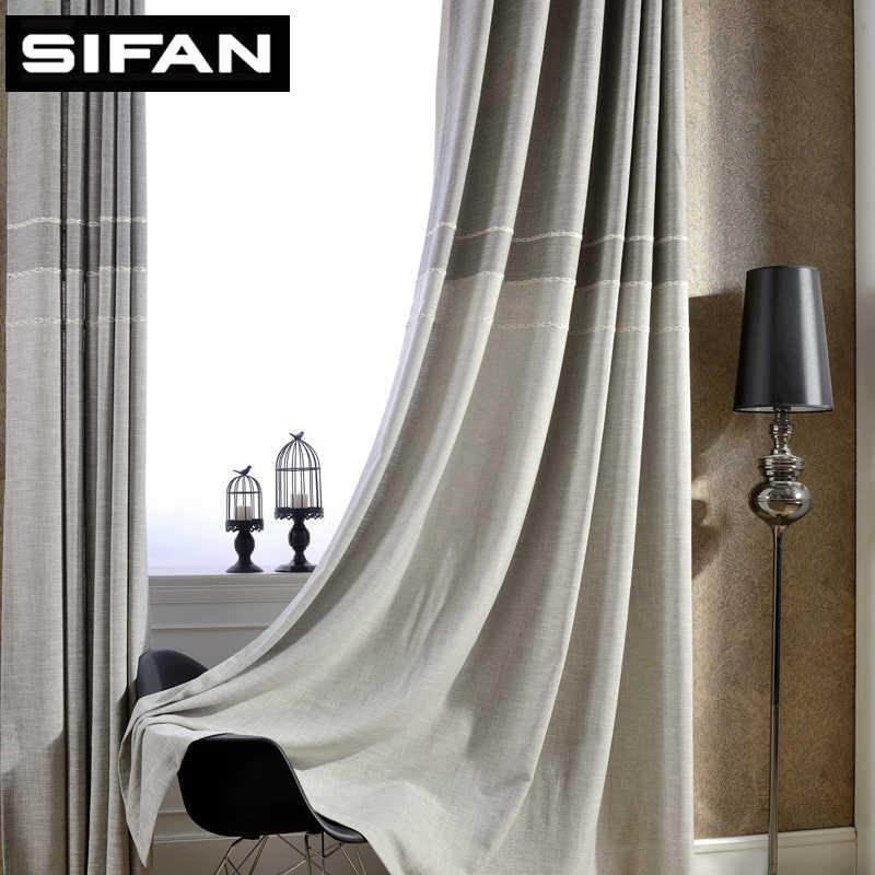 Японский стиль, плотные жаккардовые шторы из искусственного льна для гостиной для спальни, современные шторы на заказ
