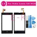 Оригинал Для Nokia Lumia 520 N520 Сенсорный Экран Digitizer С + Инструментов Бесплатная Доставка