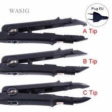 Регулируемая температура, профессиональное наращивание волос, термоизоляционный Железный разъем, палочка, инструмент для плавления железа+ розетка ЕС