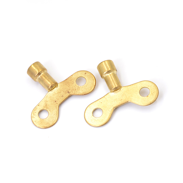 2pcs/lot key for water tap Solid Brass Special lock Radiator ...