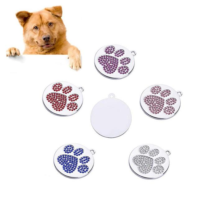 Creative Round Paw Patterned Pendant