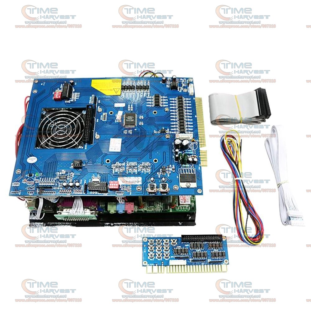 Multi games 2019 in 1 game board 2.4G CPU 40G without ATX power supply high resolution classical game for arcade game machine