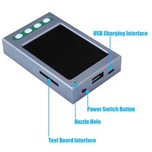Image 4 - Verificador da bateria do cabo de usb para o iphone xs xr xs max x 8 p 7 p 6 s 6 6 p 5 5S verificador de dados do cabo da bateria ciclo claro