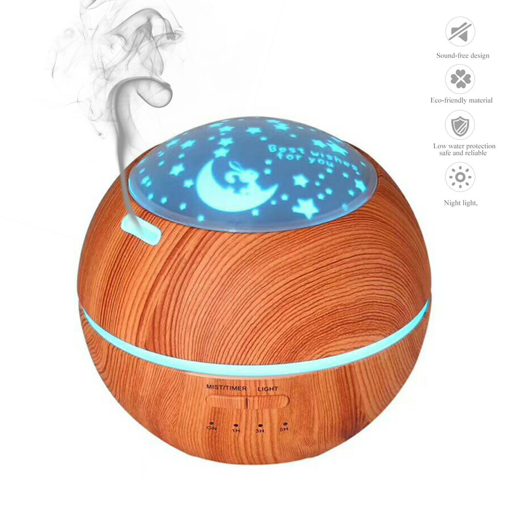 Mini Wood Grain Aromatherapy Humidifier 150ml Aroma Diffuser Essential Oil Diffuser Air Purifier Color Changing LED For HomeMini Wood Grain Aromatherapy Humidifier 150ml Aroma Diffuser Essential Oil Diffuser Air Purifier Color Changing LED For Home