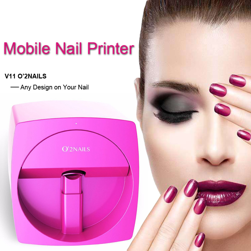 3D O2Nail decoration Printer Machine Manicure with Picture Photo ...