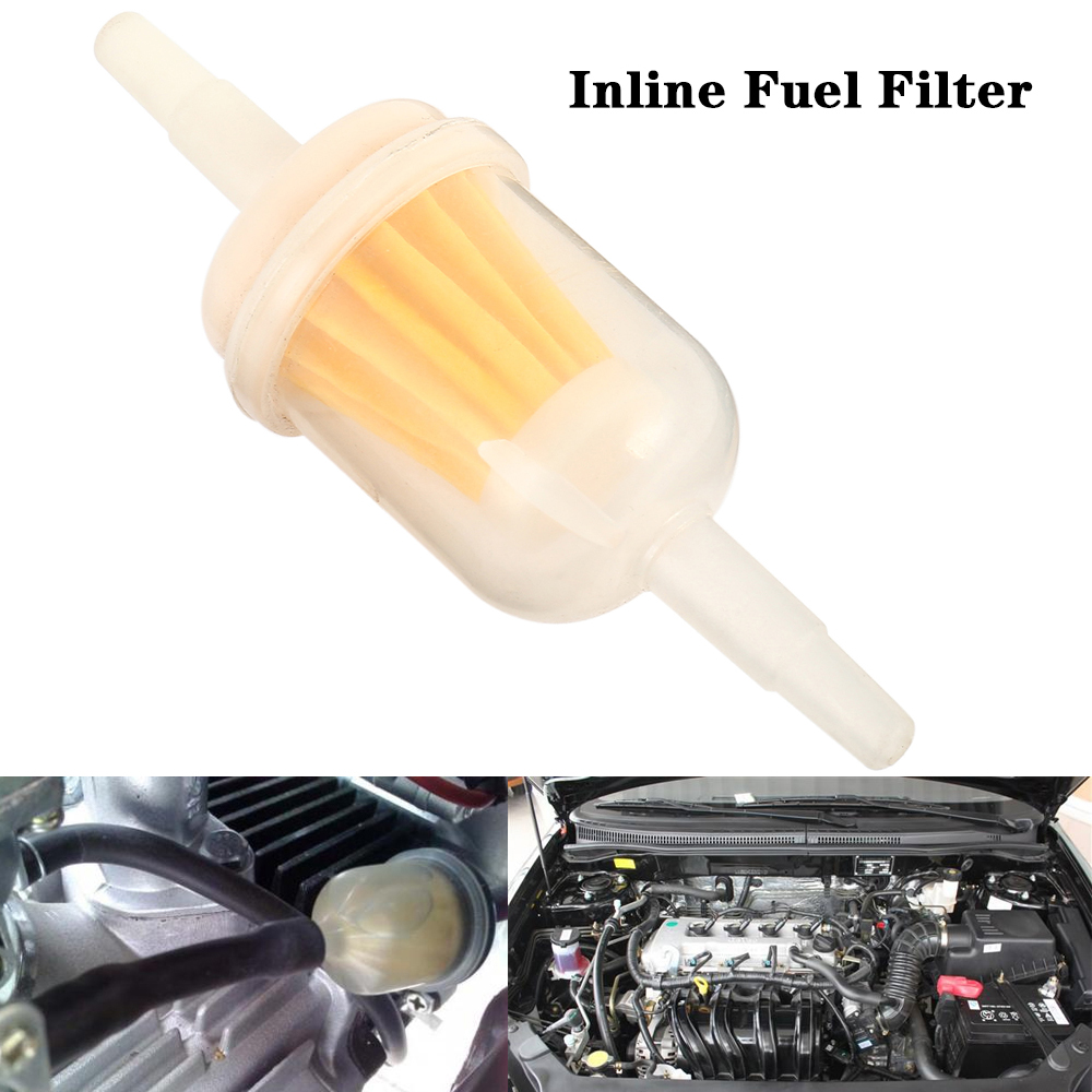 small resolution of detail feedback questions about inline fuel filter small universal fit 6mm and 8mm pipes motorcycle oil cups gasoline filter cup cartridge transparent oil