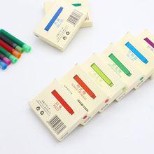 Перьевая ручка jinhao 60 шт/лот 12 разноцветных картриджей 26