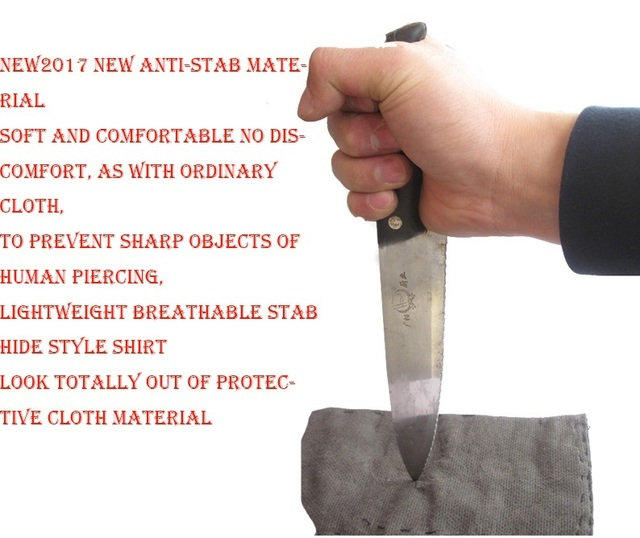 Self Defense Anti-Cut Jacket Men Anti Stab Clothing Anti-Sharp Cut Resistant Outfit Stealth Cutfree Stabfree Soft jackets coat