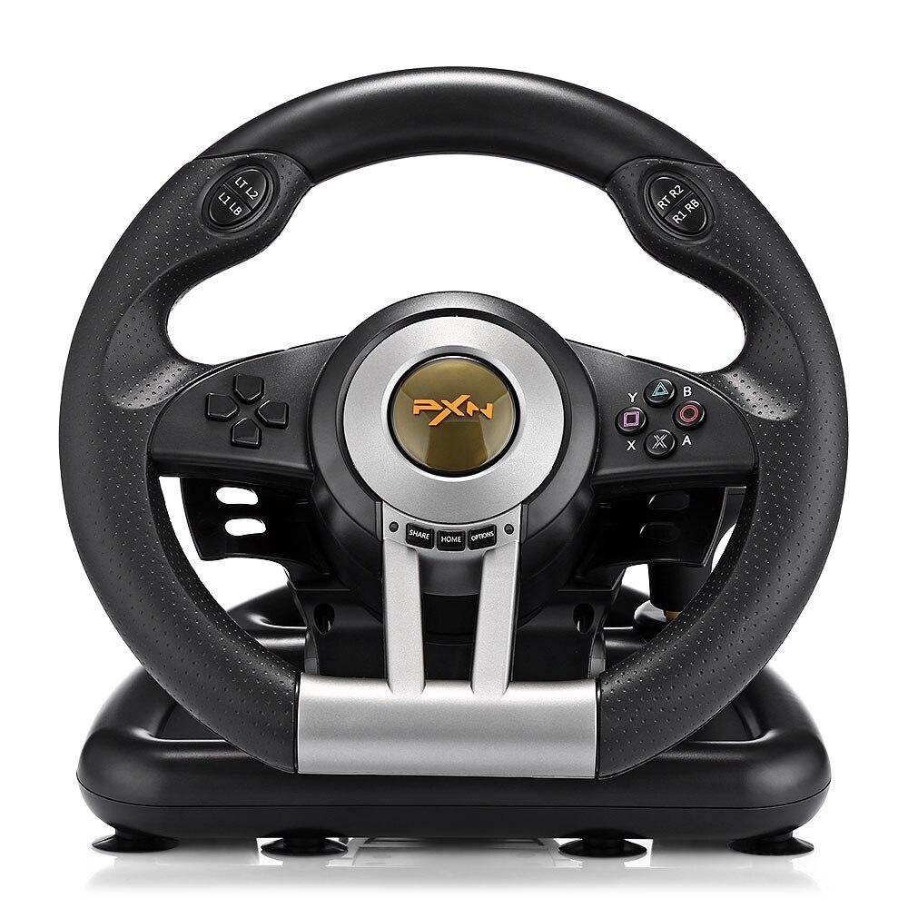 PXN V3II Racing volant de jeu USB Vibration double moteur Pliable Pédale télécommande Pour PS3 PS4 Xbox Nintendo Commutateur