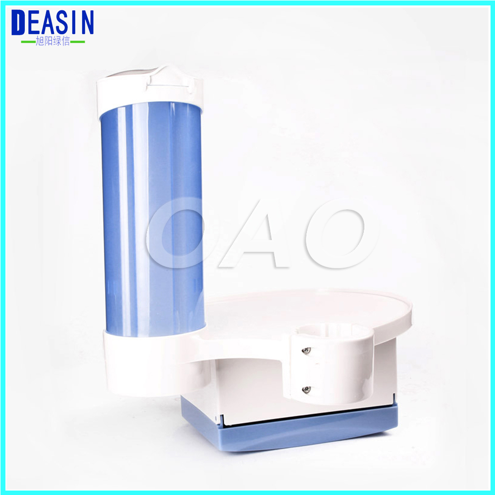 Dental Cup Storage Holder dental paper tissue Dental tray box 3-in-1 for Dental Chair Accessory hot sale dental 80 holder tray for implant drill bur organizer holder box tray
