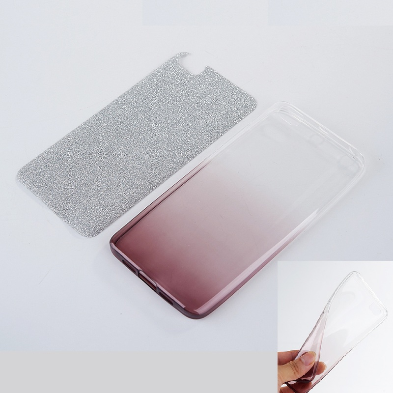 on sale 1a073 10734 Glitter Soft TPU Back Cover For Xiaomi Mi 4 4S 5 5S Plus 6 Redmi 2 3 3S 4  4A 4X Note 2 3 4 4X 32G 64G Pro Prime Case