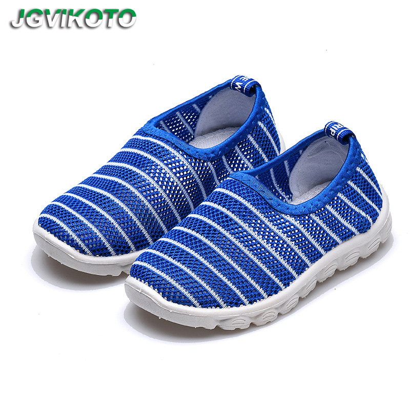 2019 New Summer Fashion Kids Shoes Cut-outs Air Mesh Breathable Shoes For Boys Girls Children Sneakers Baby Boy Girl Sandals