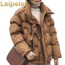 Laipelar Winter Jacket women Plus Size Womens Parkas Thicken Outerwear Mandarin Collar Coat Short Female Cotton Padded Coat rugod winter jacket women plus size womens parkas thicken outerwear solid mandarin collar coats short female cotton padded tops