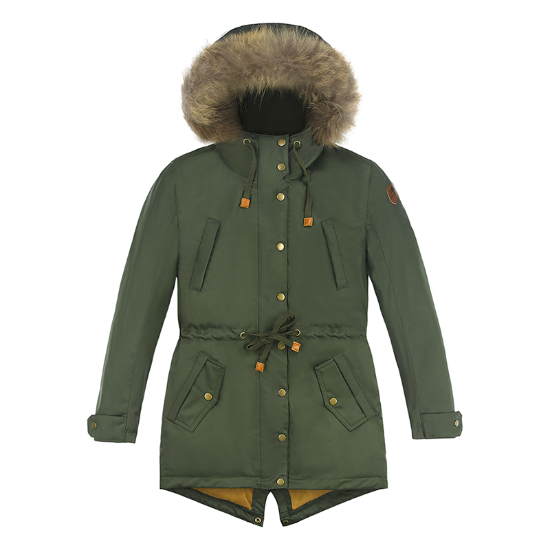 2018 New Kids Winter Coat Parka Cotton Padded Coat Jacket Winter Coat For Kids Girls Boys Winter Clothes Parka Real Raccoon Fur new 2017 men winter black jacket parka warm coat with hood mens cotton padded jackets coats jaqueta masculina plus size nswt015