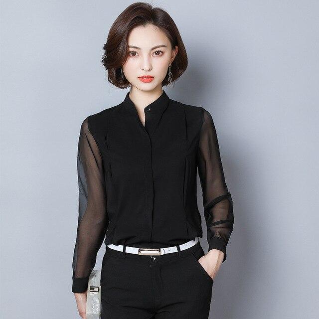 Wide Collared Shirt Women...