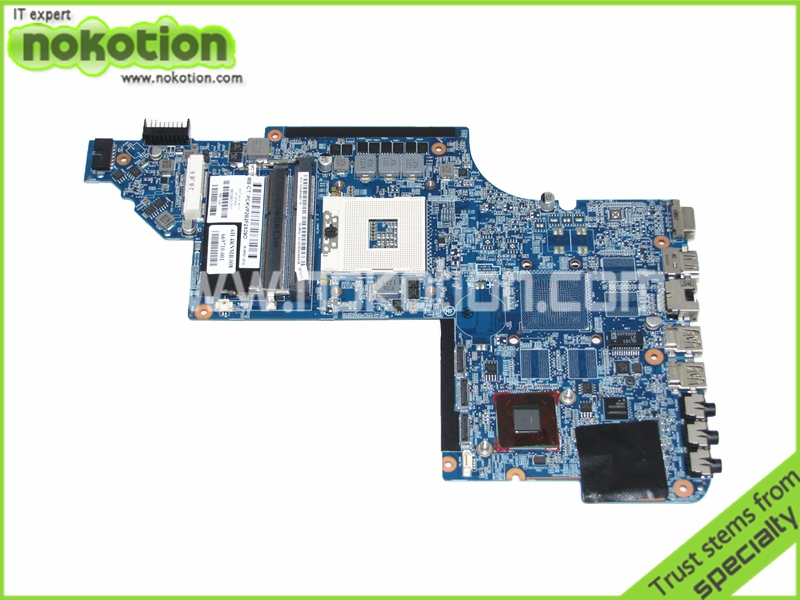 все цены на NOKOTION for HP pavilion DV7 DV7-6000 laptop motherboard 665993-001 hm65 GMA HD3000 DDR3 Main board онлайн
