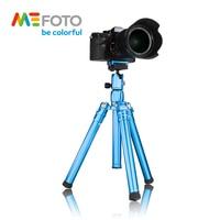 MeFoto MF15 Tripod Reflexed Monopod Selfie Stick Mini Portable Tripod For Camera With Ball Head 5 Section DHL Free Shipping