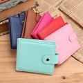 Fashion Leather Women Wallets Recltange Bifold Wallet ID Card holder Coin Purse Pockets Clutch with hasp Womens Wallets