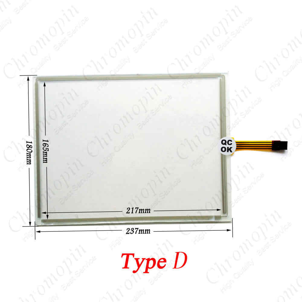 1PCS //// NEW For B/&R 4PP420.1043-K12 touch Touch Screen Glass