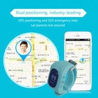 5PCS Professional Q50 LED Display Children Kids Smart Wrist Watch GPS Tracker Locator Anti Lost Waterproof Smart Watch