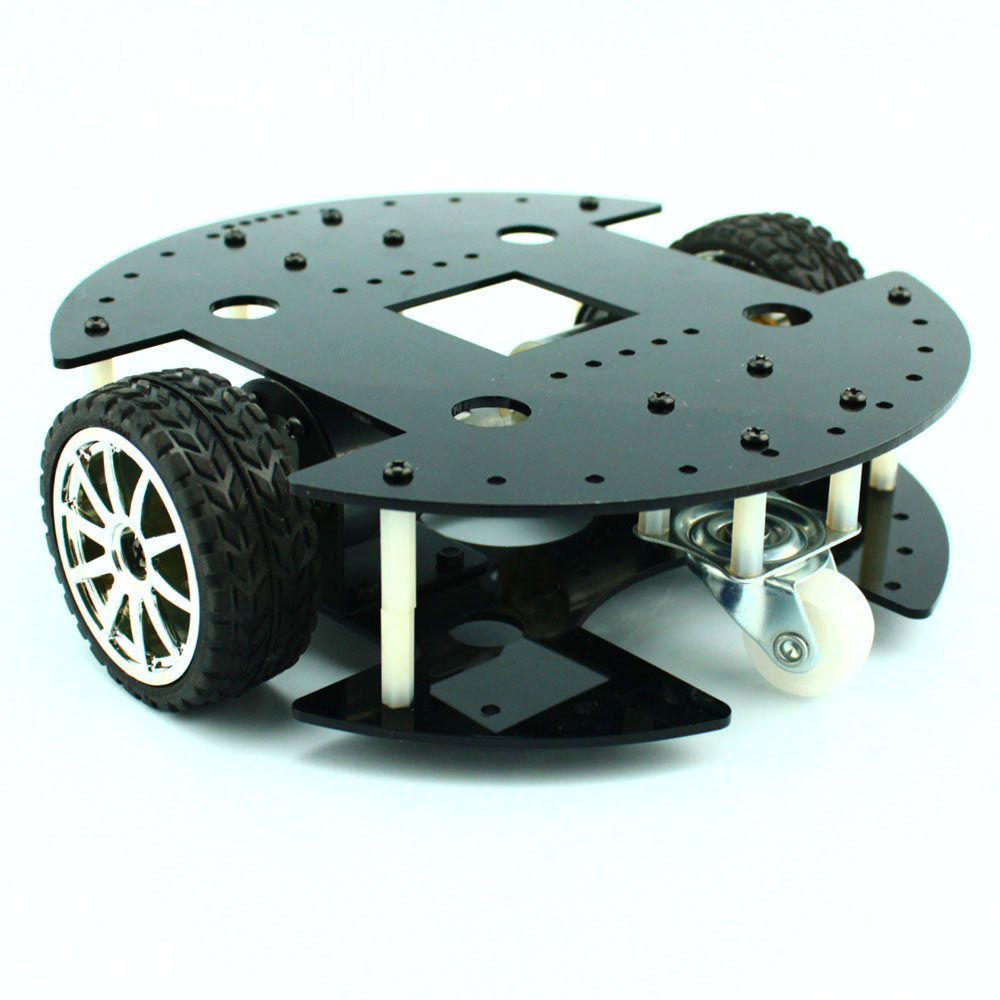 Two-wheel drive 37B280 Smart Car, 37GB Gear Motor, Fun Robot Chassis Model, DIY KitTwo-wheel drive 37B280 Smart Car, 37GB Gear Motor, Fun Robot Chassis Model, DIY Kit