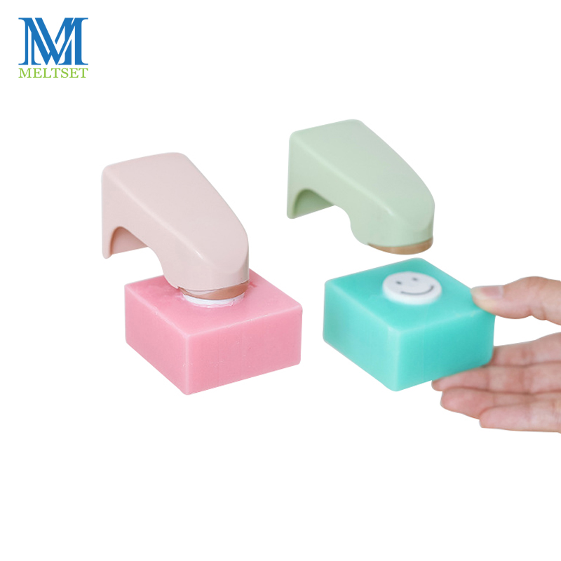1 PC Portable New Magnetic Soap Holder Dispenser Kitchen Bathroom Shower Wall Mounted Sticking Soap Dishes