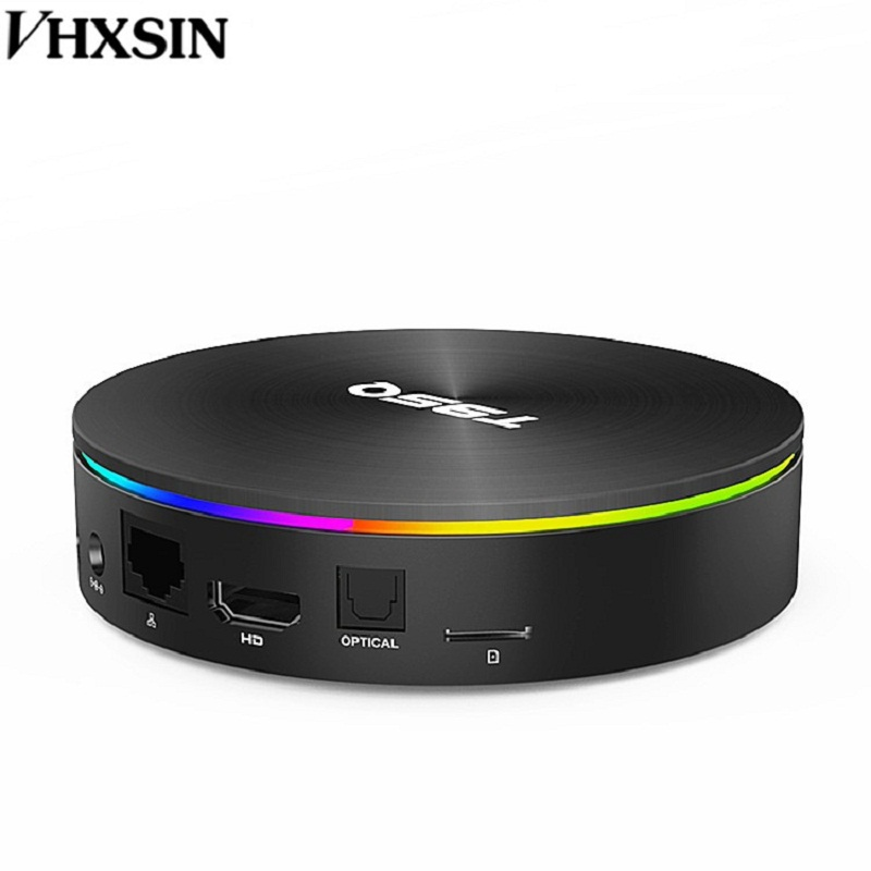 VHXSIN 10 PCS/LOT T95Q 4GB 64GB Android 8.1 LPDDR4 Amlogic S905X2 TV BOX Quad Core 2.4G 5GHz-in Décodeurs TV from Electronique    2