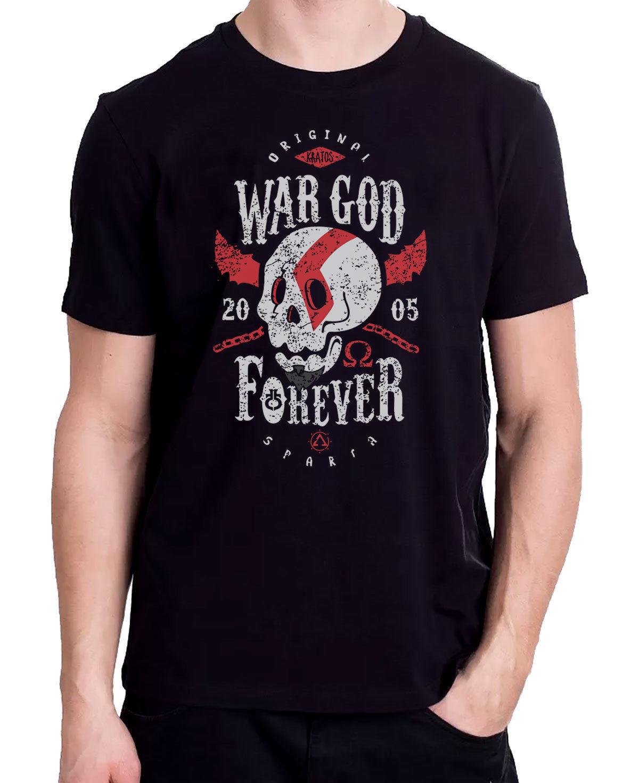 Original War God Forever, God Of War Gaming Geek T-Shirt Interesting Pictures