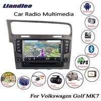 Liandlee For Volkswagen VW Golf MK7 2012~2018 Android Car Radio CD DVD Player GPS Navi Navigation Maps Camera OBD TV HD Screen