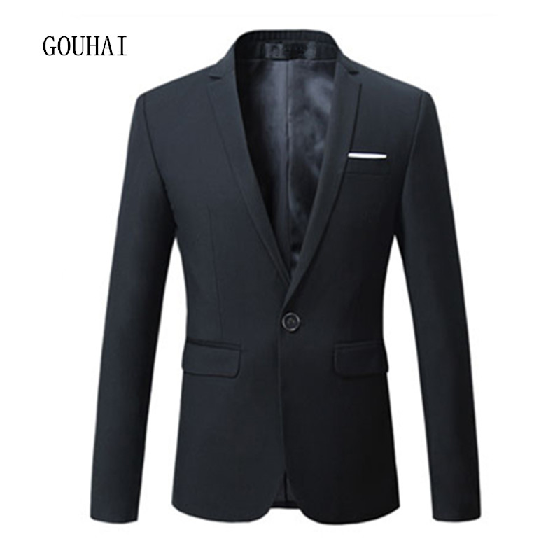5 Colors Solid Men Blazer 2017 New Male Suits Single Button Casual Slim Jacket Blazer Men