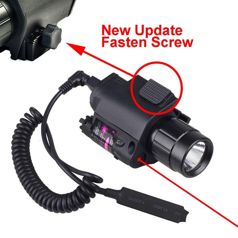 lanterna com 20mm picatinny montagem trilho 02