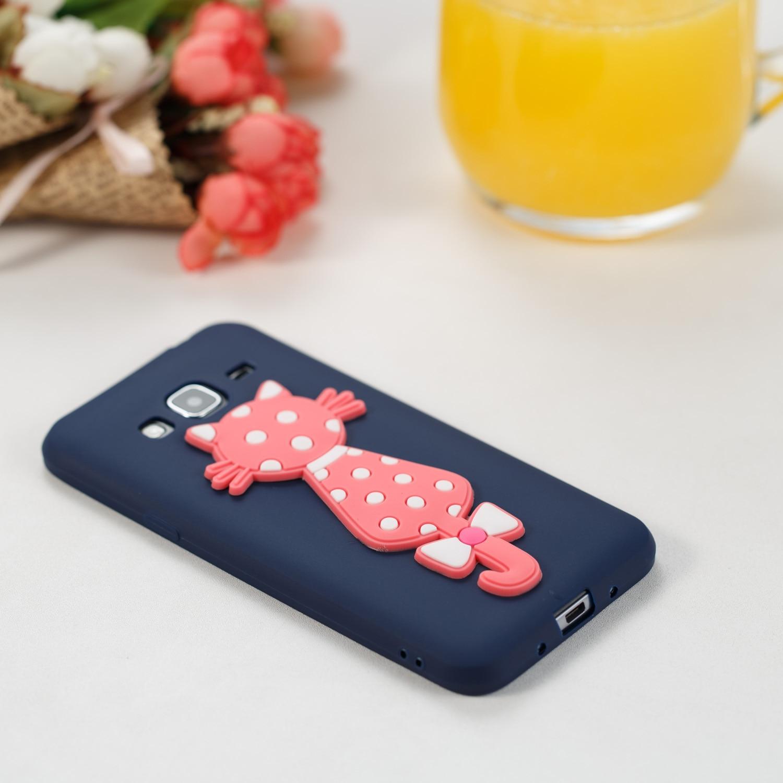 TPU Cartoon Silicone Cute 3D Cat Kryty Shell Bag Cover Phone Case For Sumsung Samsug Samsung Galax J3 2016 j 310
